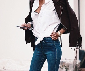 chic, coat, and girly things image