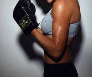 fitness, boxing, and fit image