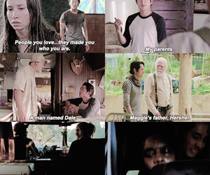 enid, the walking dead, and tyreese williams image