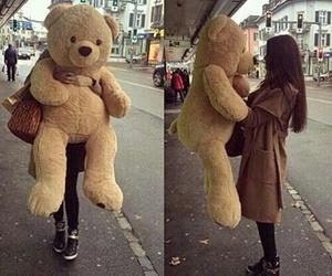 love, bear, and teddy image