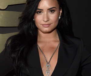 demi lovato and the 58th grammy awards image