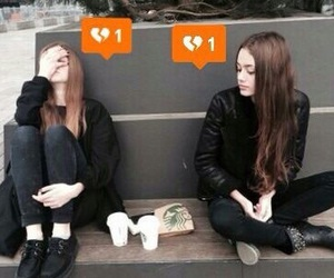 friends, sad, and broken image