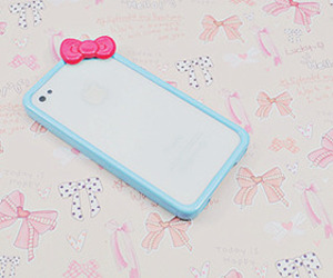 blue, ipod, and pink image