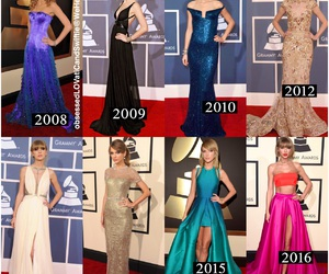 dresses, fashion, and grammys image
