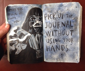 journal, star, and this image