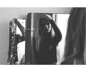 grunge, mirrors, and model image