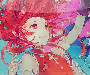 anime, anime girl, and red hair image