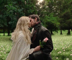 hook, captain swan, and emma swan image