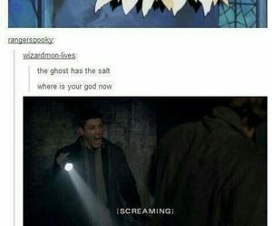 supernatural, ghost, and salt image