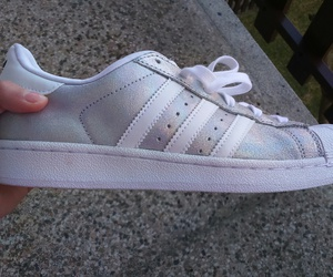 adidas, glitter, and perfection image