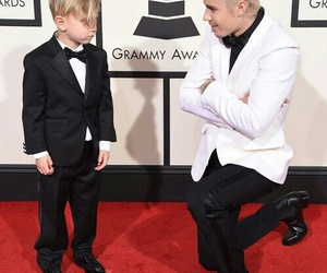 justin bieber and grammys image