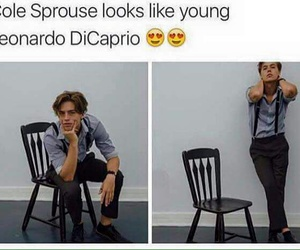 cole sprouse, Hot, and leonardo dicaprio image