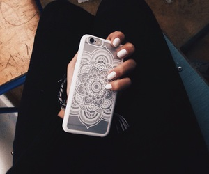 iphone and white image