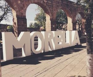 city, morelia, and méxico image