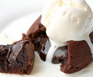 food, chocolate, and dessert image