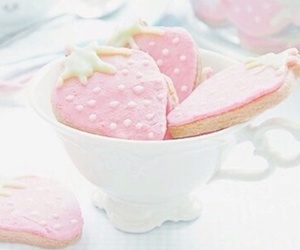 pink, strawberry, and sweet image