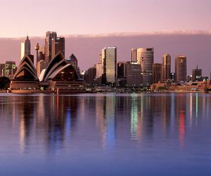 city, australia, and sea image