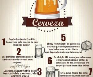 beer, cerveza, and gastronomia image