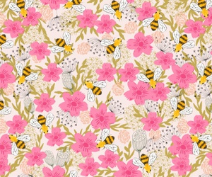 background, bee, and bumble bee image