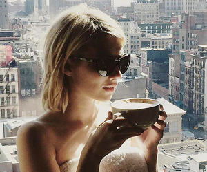coffee, emma roberts, and cute image