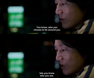 fast and furious, han, and quote image