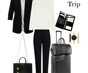 fashion, style, and business trip image