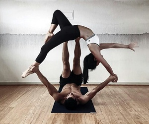 flexible, relax, and yoga image