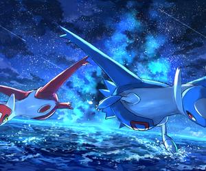 pokemon, latias, and latios image