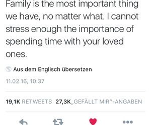 family, quote, and familytime image