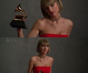 grammys, selena gomez, and red image