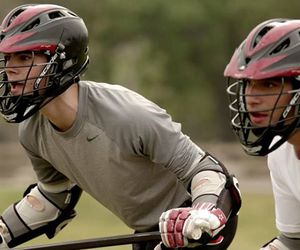 teen wolf, lacrosse, and scott image