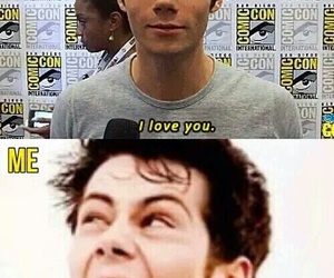 teen wolf, dylan o'brien, and me image