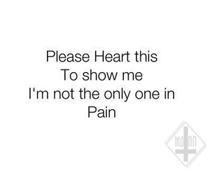 cry, pain, and heart image