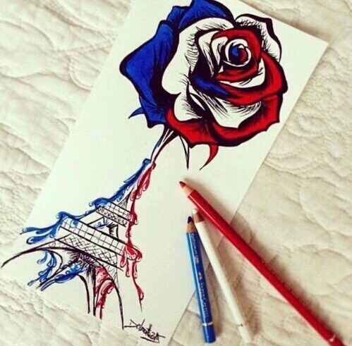 drawing and parís image