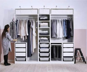 clothes, dressing, and rangement image