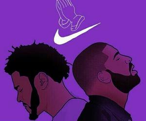 Drake, nike, and j.cole image