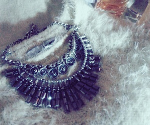 fashion, necklace, and loveit image