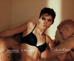 Calvin Klein, fashion, and kendall jenner image