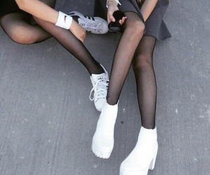 girl, grunge, and shoes image