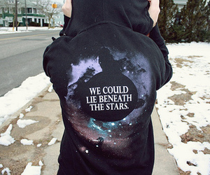 stars, snow, and can image