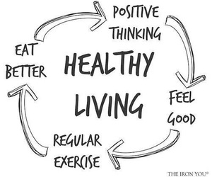 healthy, exercise, and fitness image