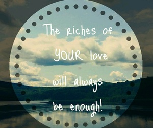always, enough, and Hillsong image