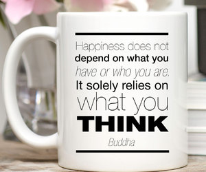Buddha, etsy, and happiness quote image
