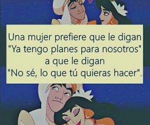 aladdin, disney, and frases image