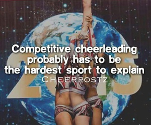 Cheerleaders, competitive, and stunt image