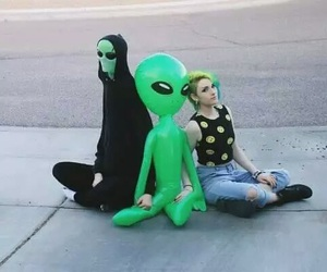 alien, aesthetic, and indie image