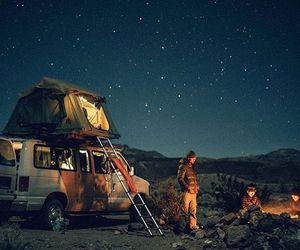adventure, camp, and tents image