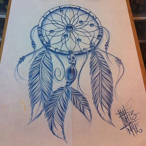dreamcatcher drawing - Google Search: on We Heart It