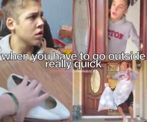 funny, shoes, and matthew espinosa image