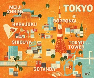 asia, cities, and japan image